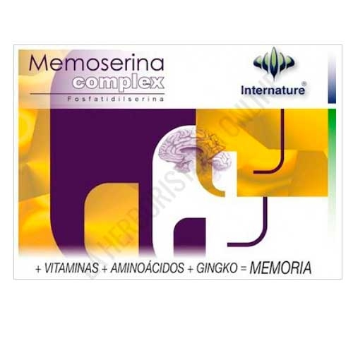 Memoserina Complex Internature 60 cápsulas
