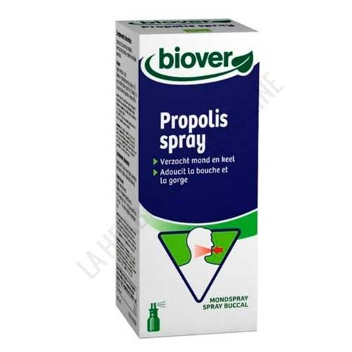 Propolis spray garganta con extractos y aceites esenciales ecológicos  Biover 25 ml. -