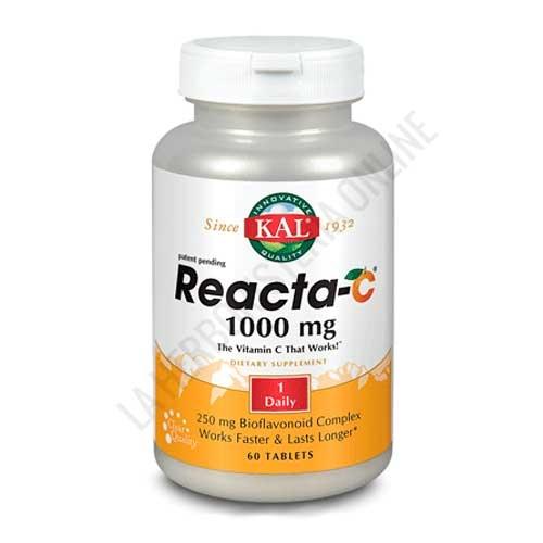 Reacta C 1000 mg. Kal 60 comprimidos -