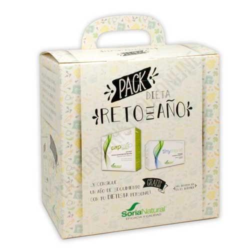 Pack Dieta Reto del Año Soria Natural 28 comprimidos + 20 infusiones