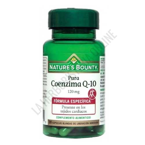 Coenzima Q10 120 mg. Natures Bounty 30 cápsulas -