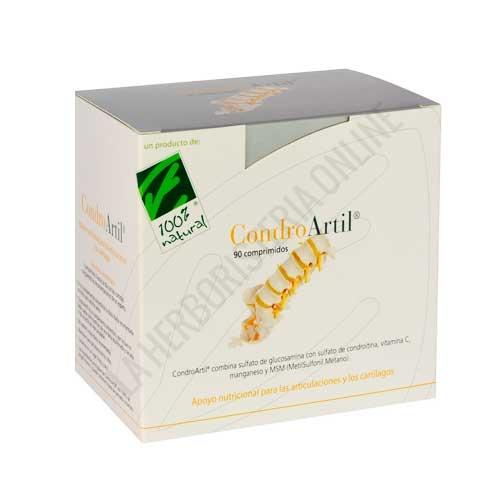 CondroArtil Glucosamina Condroitina y MSM 100% Natural 90 comprimidos -