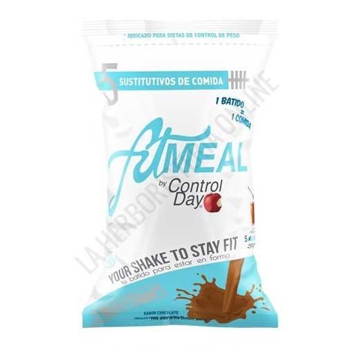 Batido Controlday Fitmeal sabor chocolate Nutrisport 260 gr.