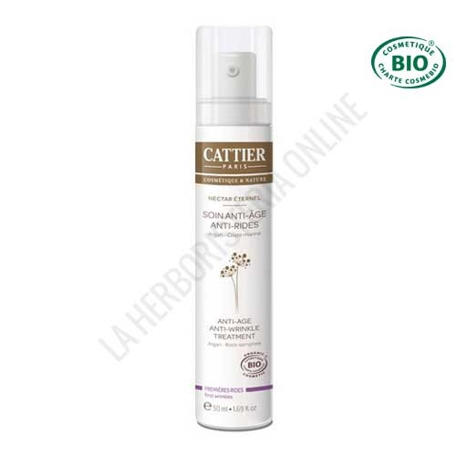 Crema facial antiarrugas Cattier 50 ml.