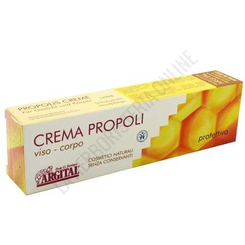 Crema Propolis Argital 50 ml. - La Crema Argital de Propolis, sin conservantes y a base de extracto de propóleo y gel de arcilla verde, ayuda a proteger y a calmar la piel especialmente contra el frío y las influencias ambientales desfavorables.