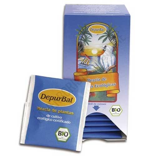 Depurbal infusión depurativa Madal Bal 20 sobres - Depurbal de Madalbal es una formulación de plantas de cultivo ecológico, especialmente indicada para complementar dietas depurativas.