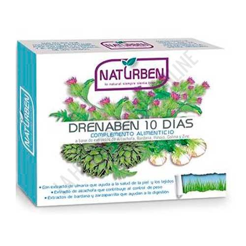 Drenaben depurativo 10 días Naturben 10 viales