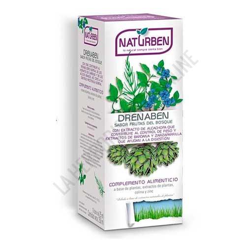 Drenaben depurativo con Fucus sabor Frutas del Bosque Naturben 250 ml.