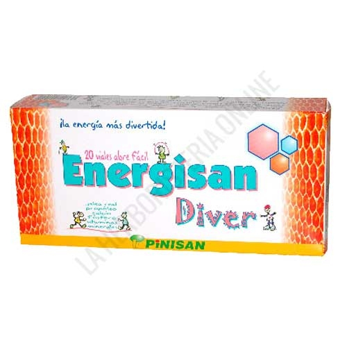 Energisan Diver Jalea Real Infantil Pinisan 15 viales