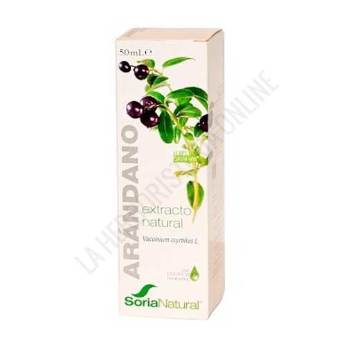 Extracto de Arándano XXI  sin alcohol Soria Natural 50 ml.