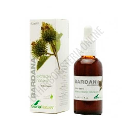 Extracto de Bardana XXI  sin alcohol Soria Natural 50 ml. con dosificador