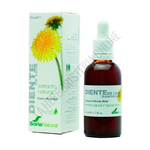 Extracto de Diente de Leon XXI  Soria Natural 50 ml. con dosificador -