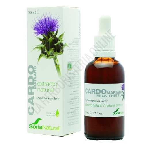 Extracto de Cardo Mariano Soria Natural 50 ml. -