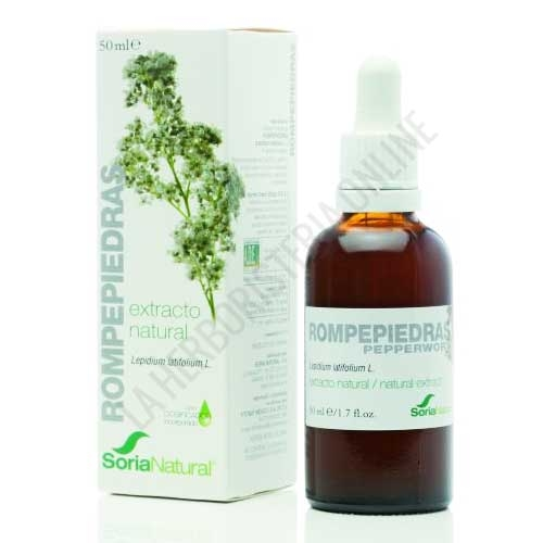 Extracto de Rompepiedras XXI sin alcohol Soria Natural 50 ml. con dosificador