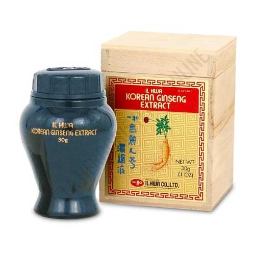 Extracto puro de Ginseng coreano IL HWA Tongil 30 gr. - Extracto Puro de Ginseng coreano IL HWA de máxima calidad.