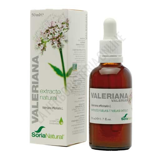 Extracto de Valeriana XXI  sin alcohol Soria Natural 50 ml.