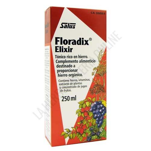 OFERTA DEL MES - Floradix hierro Salus jarabe 250 ml.