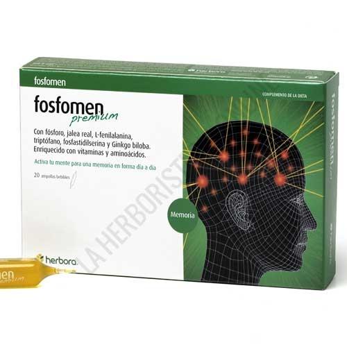Fosfomen Premium con Jalea Real Herbora 20 viales