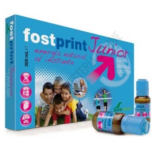 Fostprint Junior con jalea y propóleo Soria Natural 20 viales