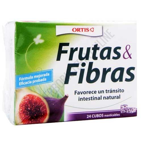 OFERTA Fruta y Fibra Clásico tránsito intestinal Ortis 24 cubitos
