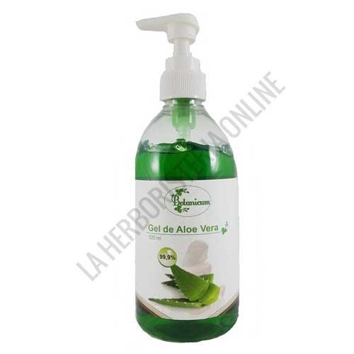 Gel de Aloe Vera 99,9% con dosificador Botanicum 500 ml.