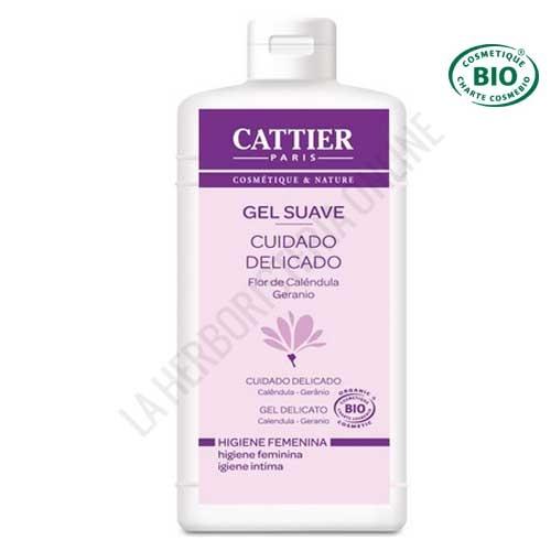Gel higiene Íntima caléndula y geranio Cattier 200 ml. -
