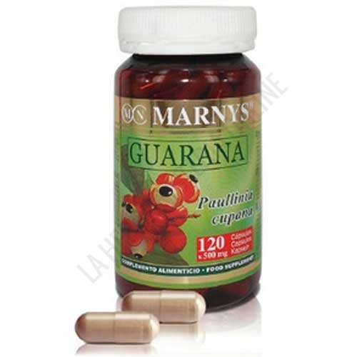 Guaramar Guaraná 500 mg. Marnys 120 cápsulas -