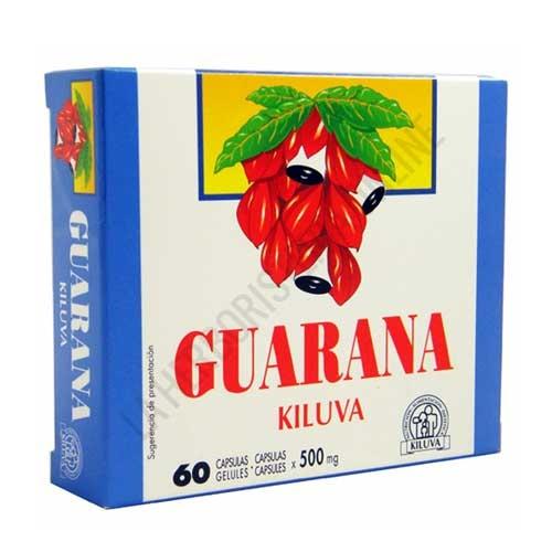 Guaraná 500 mg. Laboratorios Abad (anteriormente Kiluva) 60 cápsulas - Cápsulas de 500 mg. de guaraná, energizante muy utilizado en Amércia del Sur como complemento estimulante y vitalizante de efecto rápido y duradero (6 horas). PRODUCTO DESCATALOGADO POR EL LABORATORIO FABRICANTE.