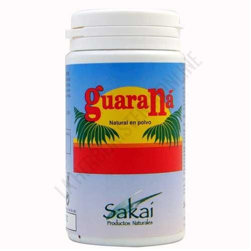 Guaraná natural en polvo Sakai 65 gr. -