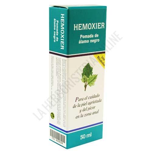 Hemoxier pomada zona anal Salus 50 ml. - Hemoxier de Salus es una pomada a base de yemas de Álamo Negro y Romero especialmente formulada para ayudar al cuidado de la piel de la zona anal y contribuir a calmar el picor.