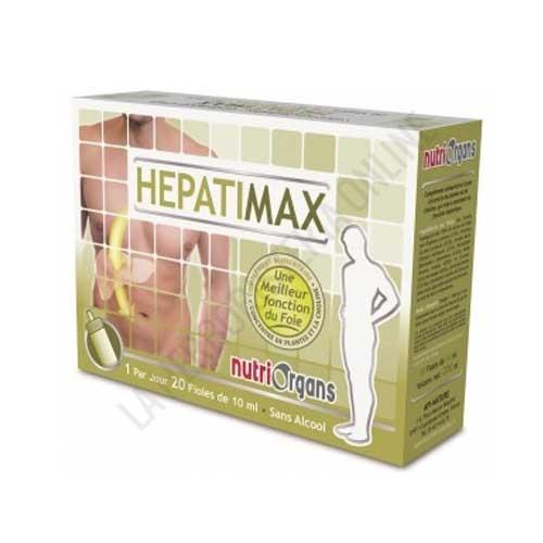 Hepatimax Nutriorgans Tongil 20 viales -