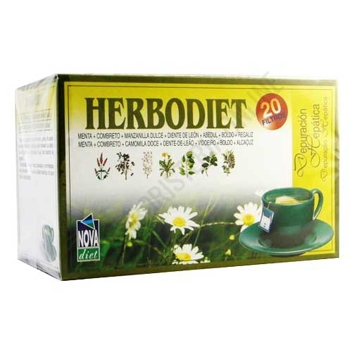 Herbodiet Depuración Hepática Novadiet 20 infusiones
