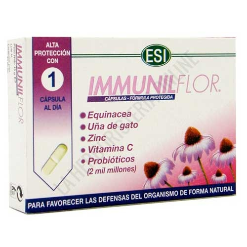 Immunilflor defensas ESI 30 cápsulas