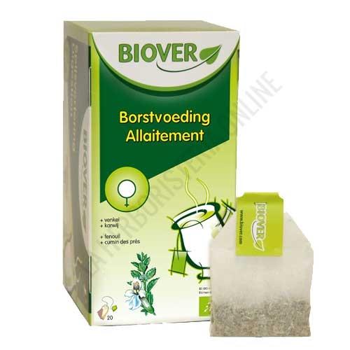 Infusión BIO Lactancia Biover 20 sobres