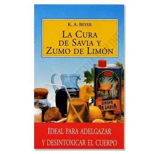 Libro La Cura de Savia y Zumo de Limón, K. A. Beyer - El libro de La Cura de Savia y Zumo de Limón proporciona las pautas, recomendaciones, efectos y reacciones de personas que han realizado la cura depurativa de la Savia y el Limón. Si vas a realizar esta depuración, te resultará muy útil su lectura. PRODUCTO AGOTADO POR NUEVA EDICIÓN. Como alternativa sí disponible le recomendamos: Libro La Cura de Savia y Zumo de Limón NUEVA EDICION, K. A. Beyer -Pulse aquí para ver el producto.