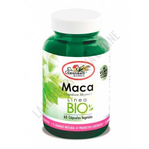 Maca BIO 560 mg. El Granero Integral 60 cápsulas vegetales -