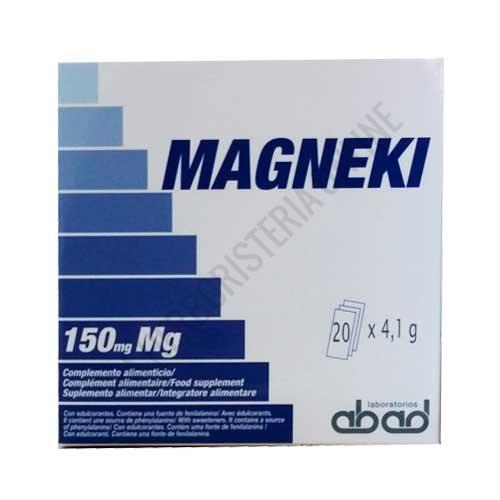 Magneki (Magneva) Magensio Laboratorios Abad (anteriormente Kiluva) 20 sobres