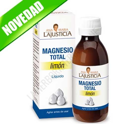 Magnesio Total Líquido sabor limón Ana María Lajusticia 200 cc.