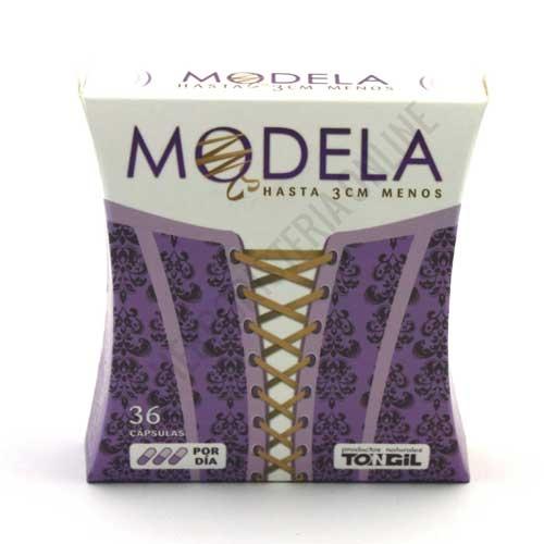 Modela Efecto Corsé Tongil 36 cápsulas - Modela Corsé de Lineabel (Tongil) es una fórmula exclusiva con Slimaluma™ que favorece la pérdida de masa grasa y en especial, ayuda a reducir el contorno en cintura y abdomen.