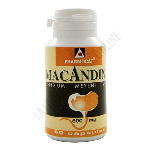 Maca Andina 500 mg. 100% pura Fharmocat 60 cápsulas -
