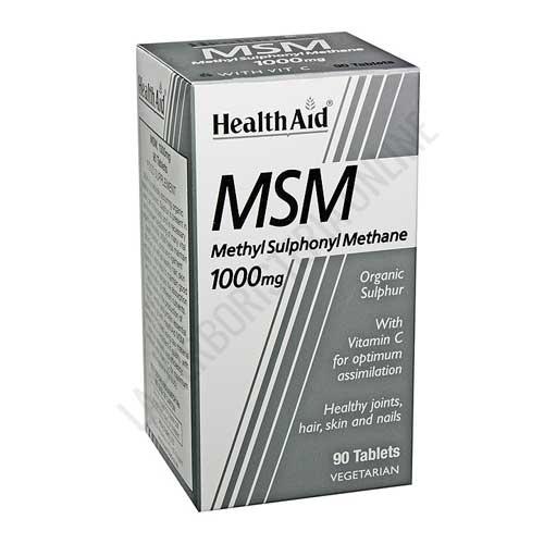 MSM Health Aid 90 comprimidos