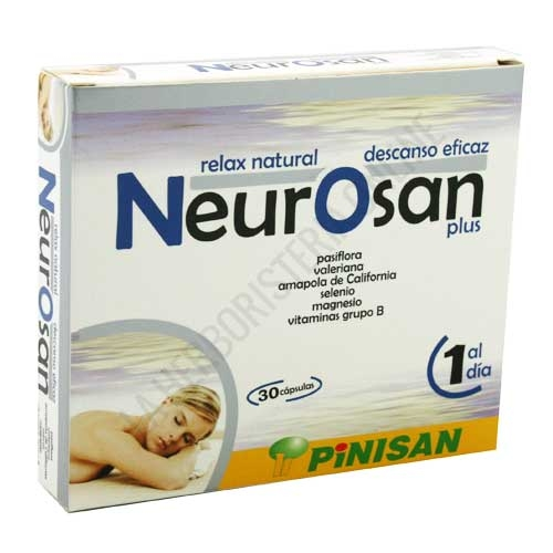 Neurosan Plus relax natural Pinisan 30 cápsulas -