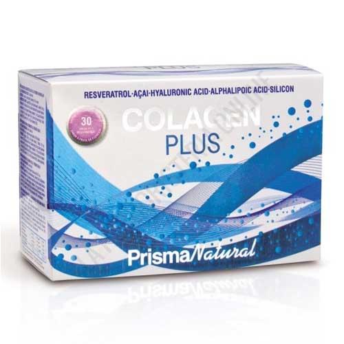 OFERTA - Colagen Plus Prisma Natural 30 Sobres - Colagen Plus de Prisma Natural es una fórmula anti-edad a base de Colágeno Hidrolizado reforzado con antioxidantes, especialmente indicada para retrasar los efectos del envejecimiento en la piel mediante su aporte de nutrientes a nivel interno.