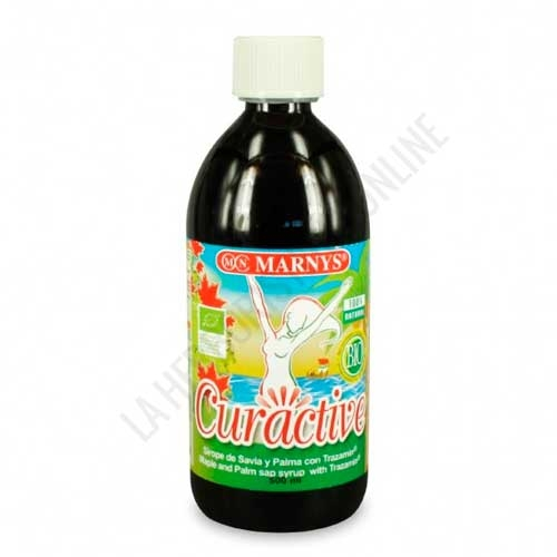Sirope de Savia y Palma BIO con Tranzamin® Curactive Marnys 500 ml.