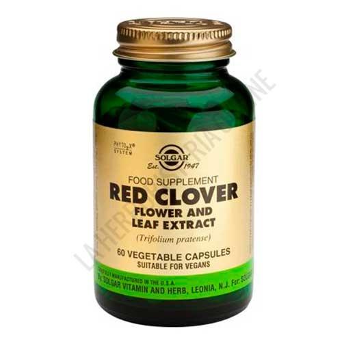 Red Clover Trebol Rojo Solgar 60 cápsulas vegetales