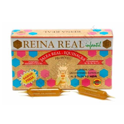 Reina Real Junior (antigua Reina Real Infantil) Jalea Real Infantil Robis 20 ampollas