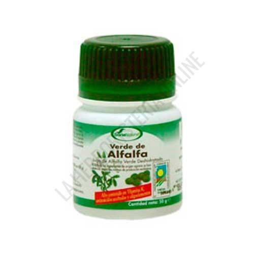 Verde de Alfalfa Soria Natural 100 comprimidos - PRODUCTO NO DISPONIBLE POR MEJORA DE FÓRMULA. Acceda al NUEVO VERDE ALFALFA de Soria Natural pulsando aquí.