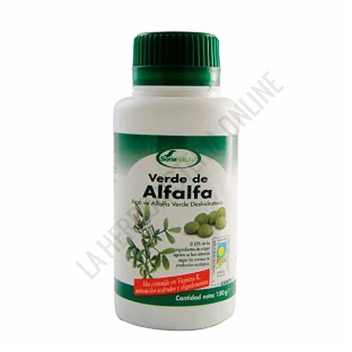 Verde de Alfalfa Soria Natural 300 comprimidos - PRODUCTO NO DISPONIBLE POR MEJORA DE FÓRMULA. Acceda al NUEVO VERDE ALFALFA de Soria Natural pulsando aquí.