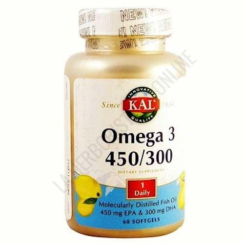 Omega 3 450/300 Kal 60 perlas -