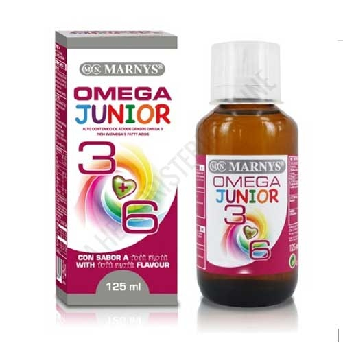 Omega 3 y 6 Junior Marnys jarabe 125 ml. -